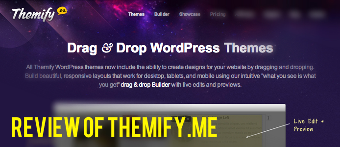 Review of Themify.me and their awesome premium WordPress themes